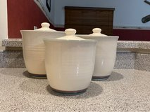 Vintage Pfaltzgraff Juniper Canister set in Quad Cities, Iowa