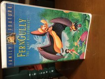 FernGully The last rainforest VHS in Ramstein, Germany