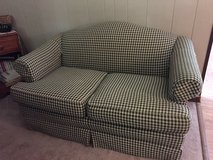 Plaid love seat in Morris, Illinois