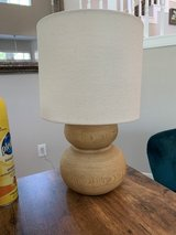 Wood lamp in Tomball, Texas