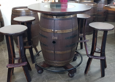 Set - Winebarrel table with bar tools in Stuttgart, GE