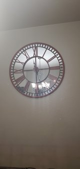 red clock in Fort Hood, Texas
