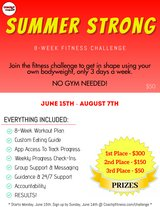 SUMMER STRONG FITNESS CHALLENGE! in Camp Pendleton, California