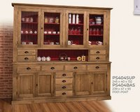 United Furnitur - China Cabinet 404 in Wax Finish including Delivery in Ansbach, Germany