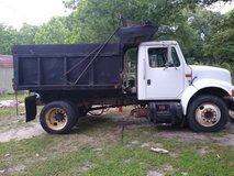 Dump Truck and Backhoe Work in Leesville, Louisiana