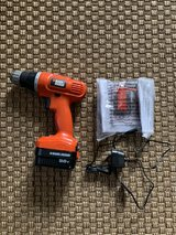 Black and Decker 9.6V Drill, Battery Charger in Camp Pendleton, California