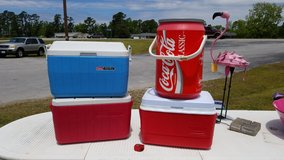 Coke Classic Cooler #1308-415 in Camp Lejeune, North Carolina