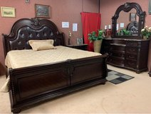Fleur de Liz Queen size Bedroom Set in Ramstein, Germany