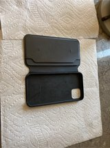 iPhone leather portfolio Cover NEW in Kingwood, Texas