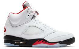 Jordan 5 Retro Fire Red Silver Tongue (2020) SZ 9.5,10 11.5 and 12 in Ramstein, Germany