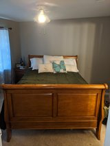 Solid Wood Sleigh Bed Set in Spring, Texas