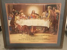 Lords supper large picture in Ramstein, Germany