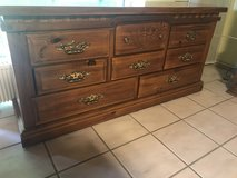 Solid wood large dresser in Ramstein, Germany