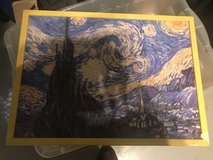 Van Gogh puzzle pic in Ramstein, Germany