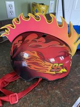 KIDS LIGHTNING MCQUEEN BIKE HELMET in Wilmington, North Carolina