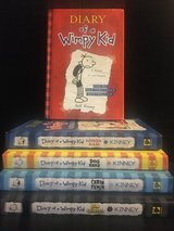 Like New! Giftable! Diary of a Wimpy Kid - 4 Hardcover Books Left! in Naperville, Illinois