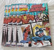 MARVEL COMICS Advanced Coloring Books $5 each in Fort Benning, Georgia