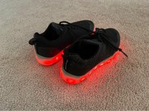 kids light-up shoes size 1.5 in Naperville, Illinois
