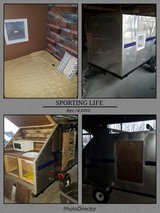 Small 4x8 camper with kitchenette in Fort Leonard Wood, Missouri