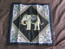 Elephant Pillow Covering, 100% silk in Okinawa, Japan
