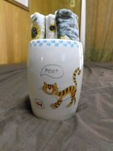 New Cat Hand Towels and container in Denton, Texas