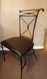 set 4 metal chair in Lakenheath, UK