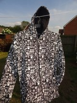ghost printed hoody in Lakenheath, UK