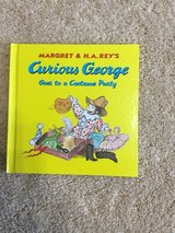 Curious George Goes to a Costume Party in Camp Lejeune, North Carolina