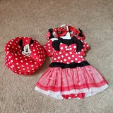 Minnie Mouse outfit 12-18 months in Naperville, Illinois