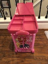 Barbie wheeled storage case in Nellis AFB, Nevada