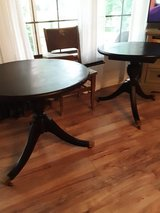 Federal style tables in Houston, Texas