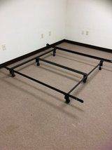 Heavy duty Queen bed frame in Alamogordo, New Mexico