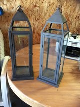 2 nice metal lanterns in Alamogordo, New Mexico