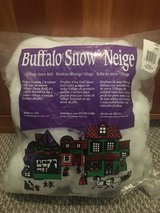 Village Snow Roll Buffalo Snow in Naperville, Illinois