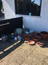 all the pots in Ramstein, Germany