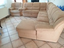 A whole couch set in Ramstein, Germany