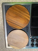 Wood Plates, Mahogany Handmade in the Philippines, set of 8, 75% off!!! in Fort Leonard Wood, Missouri