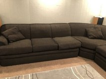 Comfy and Big L Shaped Sectional in Batavia, Illinois