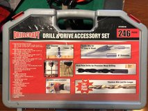 Drill & drive accessory set (246 pieces) by drill craft in Batavia, Illinois