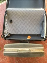Two Samsonite suitcases in Alamogordo, New Mexico
