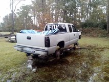 99 Silverado lifted with 07 2500 front end in Cherry Point, North Carolina