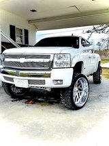 07-2013 Chevy chrome grille with billet grille in Cherry Point, North Carolina