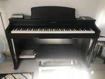 Kawaii CN43 upright electronic  piano 220 volt including bench in Ramstein, Germany