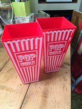 2 PopCorn Tubs in Lakenheath, UK