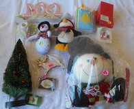 Xmas Items, Snowman, Penquin BOX 99A in Alamogordo, New Mexico
