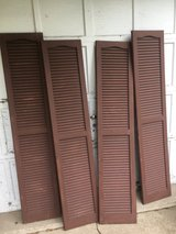 4 Louvered Shutters in Naperville, Illinois