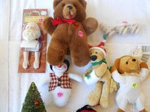 Xmas Items Bear, Santa Klaus, Tree Topper  Box 99C in Alamogordo, New Mexico