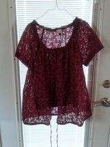 Sonoma maroon top 2pc XL in Chicago, Illinois