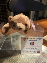 "Chicago Cubs ""Cubbie"" Opening Day 1997 Commemorative Beanie Baby in Bolingbrook, Illinois"