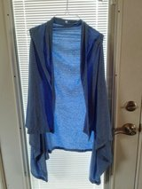 Blue shrug/ cardigan  L/XL in Naperville, Illinois